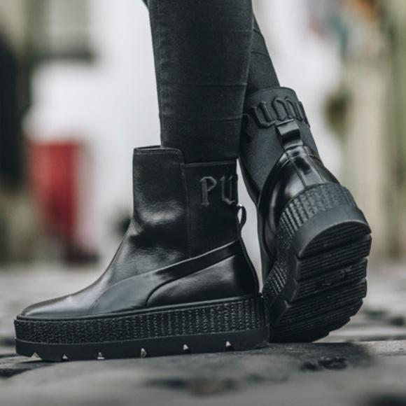 e07a52f0bc8e Puma x Fenty by Rihanna Chelsea Sneaker Boot 8